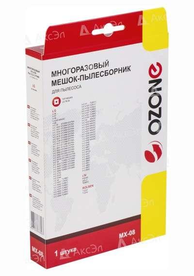 MX 08.5 - MX-08 Мешок-пылесборник Ozone многоразовый для пылесоса LG, соответствует типу мешка: TB-36.