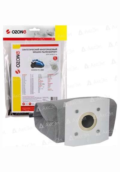 MX 16 - MX-16 Мешок-пылесборник Ozone многоразовый для пылесоса DAEWOO,  соответствует типу мешка: DU300, DU805.