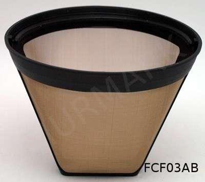 Filtr do kawy FCF03AB 001 - FCF 03AB (металл) Фильтр для кофеварок