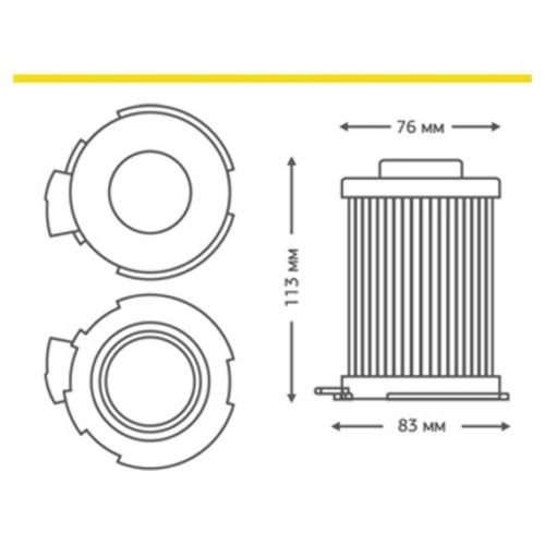 HLG 02 2 1 500x500 - HLG-02 HEPA-фильтр для пылесоса LG (код 5231FI3800A)