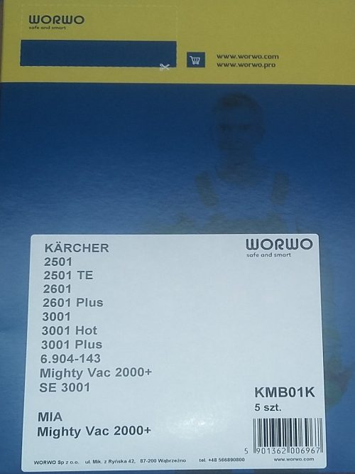 KMB01K_1 мешки для пылесоса Karcher
