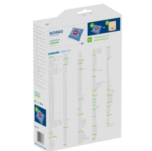 SMB01AO 3 str 1 500x499 - SMB 01 AO Комплект противозапаховых пылесборников Worwo (4 шт + фильтр двигателя) (Samsung VP-95B,VP-77B)
