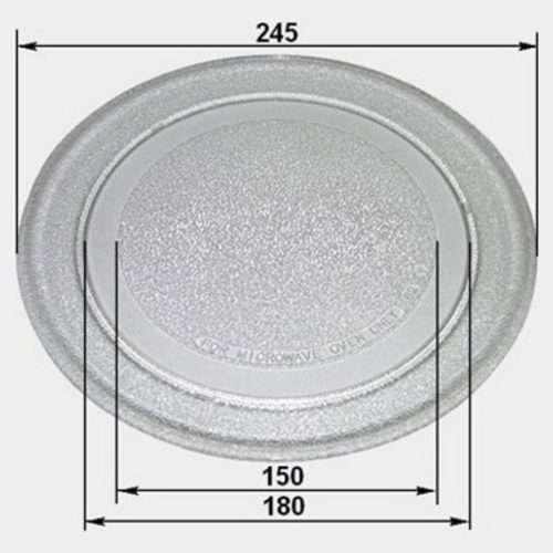 ctXsztf2RZ 1 500x500 - 95pm03 Тарелка для СВЧ-печей (LG, Gorenje, Zanussi 245мм, без посад.)