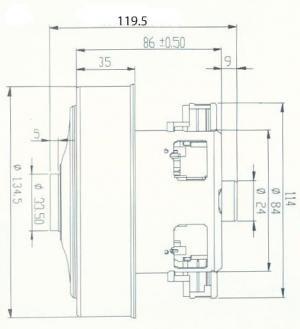 sxema ydc42s 20180724100707 1 - Двигатель для пылесоса YDC42s 1600W высокий H -120 (Samsung VCM-K70GU)