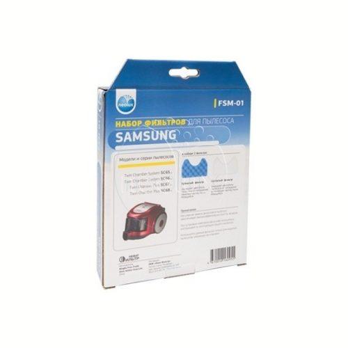 thumb 2079 product big 1 500x500 - FSM-01 NEOLUX Набор фильтров для пылесосов SAMSUNG серий SC65,66,67,68...(2 фильтра)