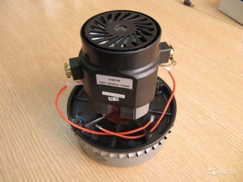 ydc 09 12 20180726130716 500x375 - Двигатель для пылесоса YDC09-12 1200W (моющий)