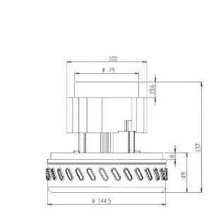 Двигатель для пылесоса Karcher