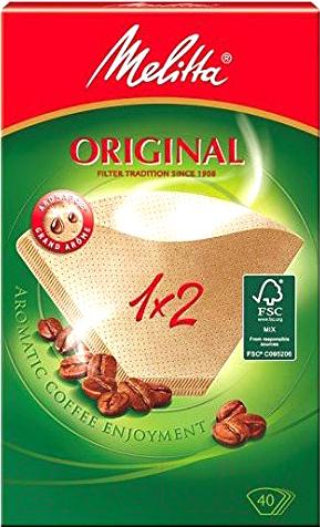 1-2 40 шт. фильтры для кофе Melitta