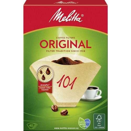 101 melitta 500x500 - Комплект фильтров для кофе 101/40