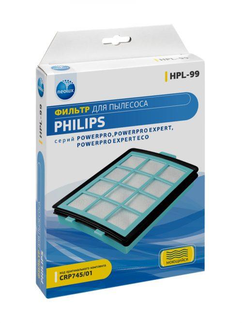 HPL 99 08 500x667 - HPL-99_NEOLUX HEPA-фильтр для  PHILIPS ( уп.1 шт.)