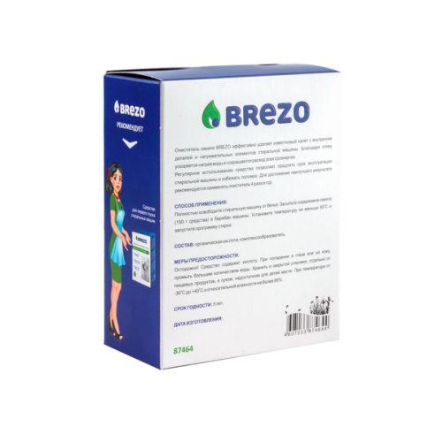 87464.5 500x500 - Очиститель накипи  для стиральной машины, 150 г., 1 шт., бренд: BREZO, арт. 87464
