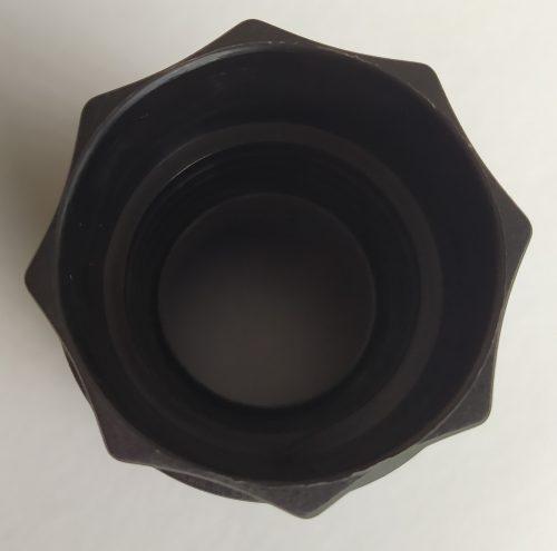 AI62 1 500x495 - 30AI62 Фитинг для шланга пылесоса д.57 мм чёрн